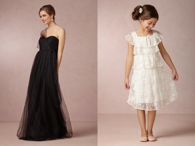 suknia dla druhny vintage