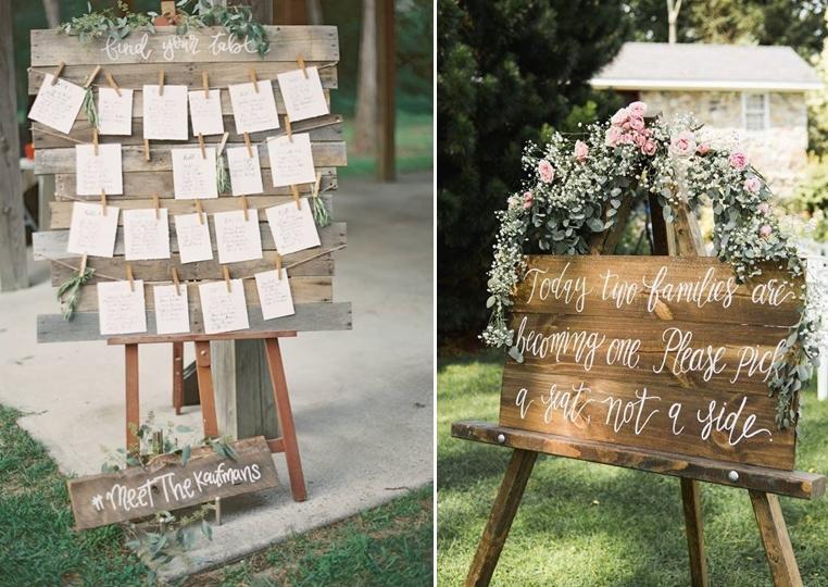 ręcznie robione ozdoby na ślub