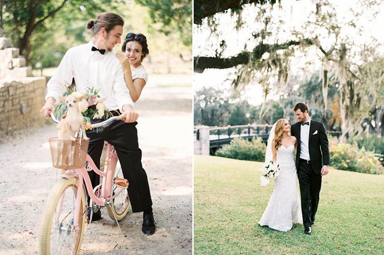 strona z inspiracjami ślubnymi
