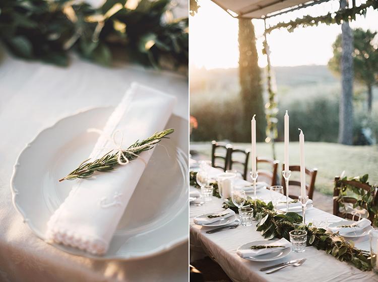 dekoracje stołu ślubnego