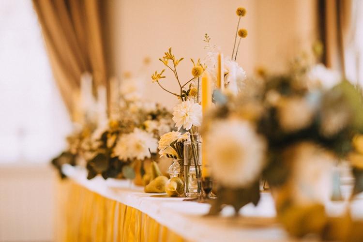 kwiaty na ślub październik