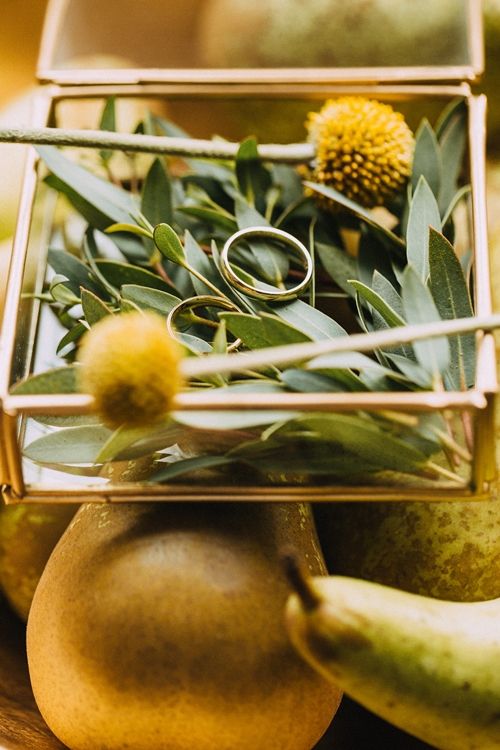 pudełeczko na obrączki ślubne