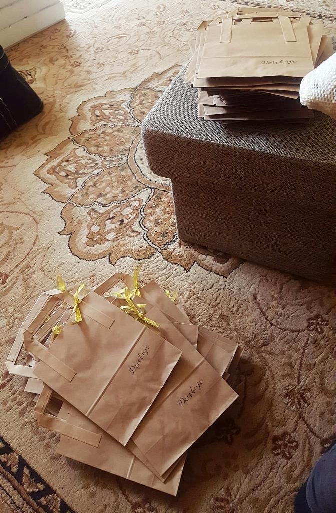 torebki na prezenty dla gości weselnych
